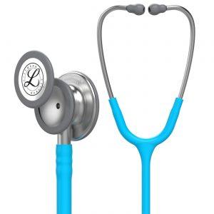 گوشی طبی لیتمن کلاسیک 3 آبی فیروزه ای