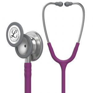 گوشی طبی لیتمن کلاسیک 3 بادمجانی